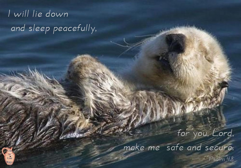 I-will-lie-down_Ps.4._otter